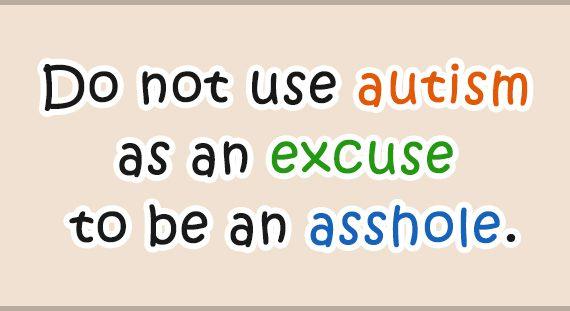 Az autikártya tulajdonosa legtöbb esetben egy érintett felnőtt vagy egy szülő, aki az autizmust eszközként használva próbál elérni vagy megúszni valamit, ezzel pedig indokolatlanul előnyt szerez magának vagy a gyerekének másokkal szemben.