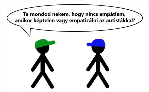 Az empátia nem hiányzik az autistákból.