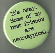 Szubverzív írás a neurotipikusokról.